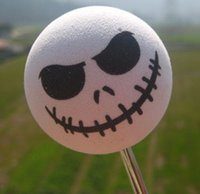 aerial toppers - xterior Accessories Car Stickers White Round Skull Little Cute Adorable Cartoon Doll Antenna Balls EVA Foam Aerial Toppers Decoration Car