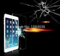 Wholesale New arrival mm Round Edge ExplosionProof Tempered Glass Screen Protector For ipad air2 ipad Protective Film
