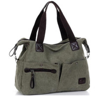 hippie bags - Women all match cowboy hippie street style fashion lady lazy pillow bags Vintage Canvas women bag School Shoulder Messenger Bag