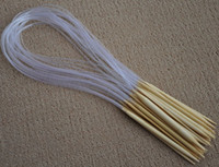 bamboo circular needles - Promotional quot cm Whiten Circular Bamboo Knitting Needles mm