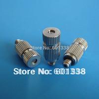 Wholesale FGS High Pressure Misting Nozzle Anti Drip thread Cleanable Ni Brass Body SS insert