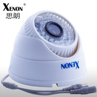 Wholesale TVL CCTV camera HD CMOS IR surveillance security camera indoor dome camera
