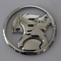 Wholesale ABS Chrome MM D Sticker HSV Holden Emblem Badge For GM Holden Buick