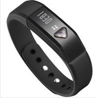 Wholesale 2014 new hot sale smart intelligent bracelet X5 pedometer odometer calories sleep sports IOS Andriod Bluetooth IP65 Red Smart Watch