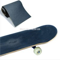 Wholesale Professional Perforated Waterproof Skateboard Deck Sandpaper Grip Tape Griptape Skiing Skate Scooter quot X9 quot Hot