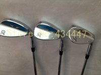 Wholesale New SM4 golf wedges loft with steel shaft black silver Champagne golf clubs wedge