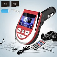 Wholesale 2016 New x6 x9cm in1 Universal Car MP3 Player FM Transmitter Modulator With USB Aux Port Support SD TF Card For Mobile Phone