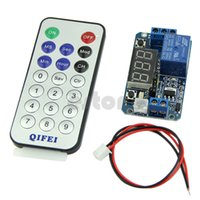 Wholesale Digital LED Display Programmable Timer Relay Module V IR Remote Controller