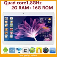 10 inch tablet - DHL Freeshipping New inch tablet Phone call tablet MTK6582 Quad core1 GHz Android G RAM G ROM g GPS IPS tablet pc