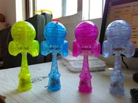 Wholesale DHL Professional Sell pieces of Size cm be hilarious Japanese Traditional LED flash Game Toy Kendama