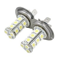 Wholesale 2X Car H7 SMD LED Xenon White Headlight Fog Day Light Lamp Bulb V