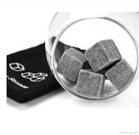 Wholesale Good Quality Summer Whisky Ice Stones Drinks Cooler Cubes Whiskey Scotch Rocks Granite Santa Gif