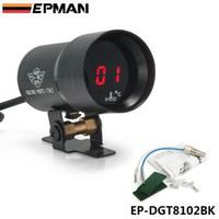 Wholesale EPMAN mm gauge meter Micro Digital Water Temperature Gauge Auto gauge mm Supplied with Sensor Kit Black EP DGT8102BK