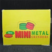 metal parts - Mini Metal Herb Grinder BOB MARLEY Grinder for Tobacco Parts mm Dia Herbal Grinder Smoke Crusher Grinders Mix Design Grinder