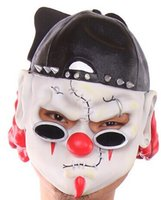 Wholesale New Halloween horror clown mask latex mask dance party