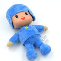 Cheap Cute Pocoyo Doll,simulation silicone facial Soft plush stuffed toys Children the best gift