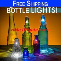wine cork - Corks bottle cap lamp Cork Shaped Rechargeable USB Bottle Light Rechargeable Wine Bottle LED Atmosphere Light