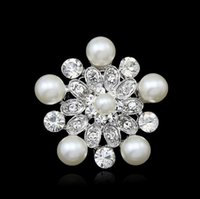 Wholesale 2015 New Fashion jewelry brooch pins womens brooches pearl brooch gift for women