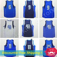 Wholesale Top quality Basketball Jersey New Jerseys Green White Maver Basketball shirts embroidered Men sport wear