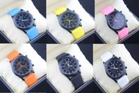Wholesale Pure color quartz watch Geneva students watch Candy color fashion men and women watch