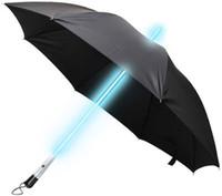Wholesale LED Umbrella Blade Runner Style Light Umbrella Change color Romantic Umbrella in Rain Christmas Gift