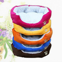 Wholesale Imitation cashmere Small dog cat bed pet dog supplies Keeping warm cotton nest