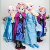 Wholesale plush Toys Princess Elsa Anna Plush Filled Baby Doll Toys cm Christmas Toys
