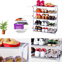 shoes rack shelf - Metal Shoes Rack Shelf Removable Combination Storage Organizer Holder Household Stands Tiers
