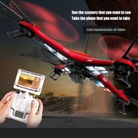 large rc helicopter - Extra large aerial rc helicopter JJRC669 axis GYRO CH G professional RC quadcopter with MP HD camera gifts toys for kids