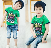 factory direct clothing - On sale HOT New children clothes boys girls unisex t shirt cartoon children t shirts cotton childrens t shirt factory direct sale
