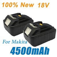 Wholesale 2 pieces Makita v mah battery BL1845 BL1830 v Lithium Ion Tool Battery for power tool Ship free order lt no track