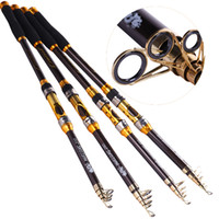 Wholesale ishing Rod Combo High Quality M M Telescopic Fishing Rods and Spinning Fishing Reels Set Rock Boat Carbon Fiber Fishing Rod Reel Co