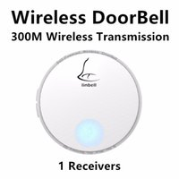 Wholesale G2 Waterproof m Wireless Door Bell Doorbell with Melody Home Smart Alarm Push Button AC110V V