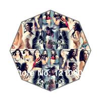 bella umbrella - New Unique Design The Bella Twins Background Auto Foldable Umbrella Great Gift Idea