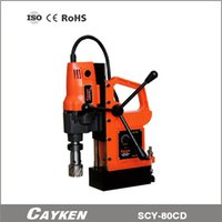 magnetic drill press - CAYKEN SCY CD Magnetic Core Drill tool press for drilling metal plate core bit not included