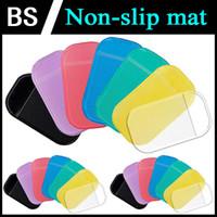 Wholesale Silica Gel Car Mat Magic Sticky Pad Anti Slip Non Slip Mats for Cell Phone Coin PDA MP3 MP4 GPS Anti Slip Mat