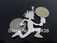 hatchet man necklace - Free Ship Large Hatchetman Charm ICP Hatchet Man Pendant Juggalo Grade Jewelry L Stainless Steel Pendant Necklace