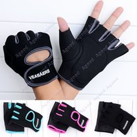 half finger gloves - Sport Cycling Fitness GYM Half Finger Bicycle Weightlifting Gloves Exercise Training