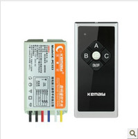 Wholesale K PC323 Kemard V Three Ways Wireless Smart Remote Control Switch Can through the walls