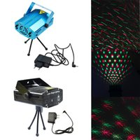 Wholesale DJ Party Stage Light W Mini Laser Stage Lighting mW Mini Green Red Laser Blue Black Disco Dance Floor Lights