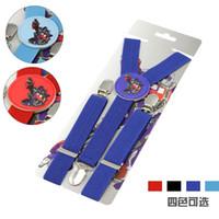 Wholesale New Transformers Toddlers Suspenders Children Adjustable solid Suspenders baby Elasti Braces Kid Suspenders Accessories