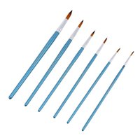 Others artists point - set Nylon Hair Paint Brush Set Round Pointed Tip Wooden Handle Artists Watercolor Acrylic Brushes Painting Art Supplies