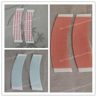 accessories toupee - Double Sided Adhesive Wig Tape Toupee Lace Wig Hair Extension Hair Accessories Waterproof Red Blue Letter Meidi