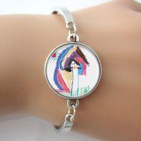 artwork bracelets - Your Child s Artwork Bracelet Personalized Keepsake Bangle Mommy Jewelry Custom Kids Drawing Jewelry