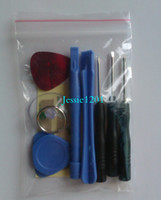 Wholesale cell phone repair tools in kits phone opening pry tools pentalobe screwdriver for iphone s g s c plus