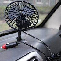 adsorption cooling - New Car Vehicle V Powered Mini Truck Cooling Air Fan Adsorption Summer Gift LY377