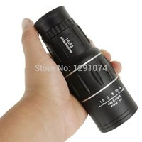 Cheap Wholesale-16X52 Outdoor High Power Adjustable HD Wide-angle LLL Mini Monocular Spotting Scope Telescope Central Zoom Eyepiece