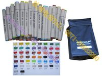alcohol gift boxes - color finecolour sketch marker set alcohol based ink a gift bag cheaper than Copic color chart stroked by actual marker