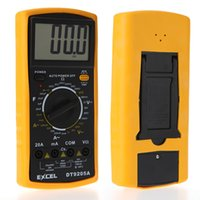 Wholesale DT9025A AC DC digital avometer Professional Electric Handheld Tester Meter Digital Multimeter