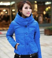 best cotton pads - 2016 Best Selling Thickening Outerwear Jacket Wadded Jacket Female Short Design Hooded Wadded Women s Cotton padded YJZ30